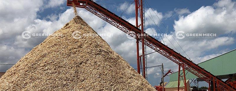 Nhà máy xuất khẩu dăm gỗ GREEN MECH